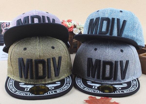 66148d7f62b New Arrival Kids Soccer MDIV Embroidery Cotton Snapback Caps Hip Hop Hats  Boys Girls Children Cartoon Baseball Cap Hat Bone