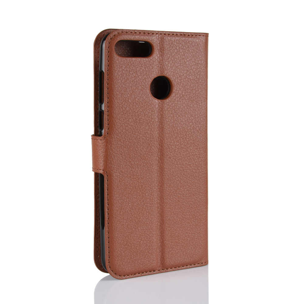Wallet case Card Holder Phone Cases for Huawei Y9 2018 pu Leather Cover Case Protective holster