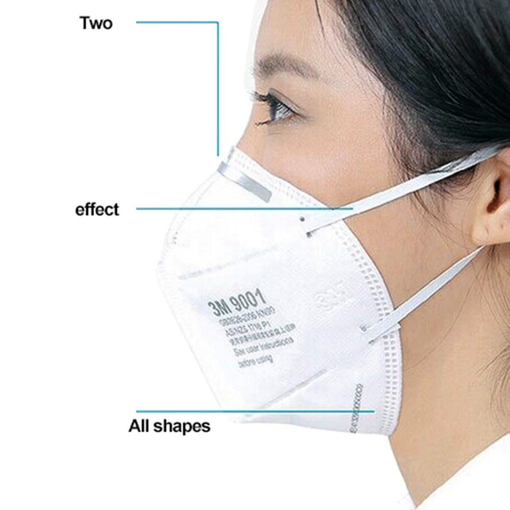 Bekleidung Zubehör 3 Mt Anti Dunst Pm2.5 Masken Vertikale Falten Antiviru Staub Sicher Masken Vlies Anti-nebel Luft Verschmutzung Filter Täglichen Gebrauch 100% Hochwertige Materialien Masken