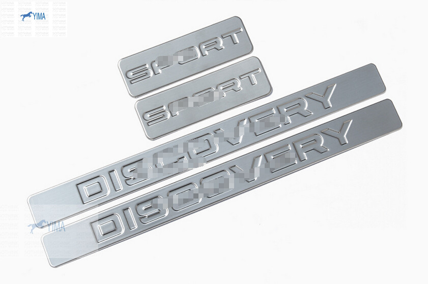 accessories For Land Rover Discovery Sport 2015 Stainless Steel Scuff Plate Door Sill no name семена огурец сестрица аленушка 0 5гр сем
