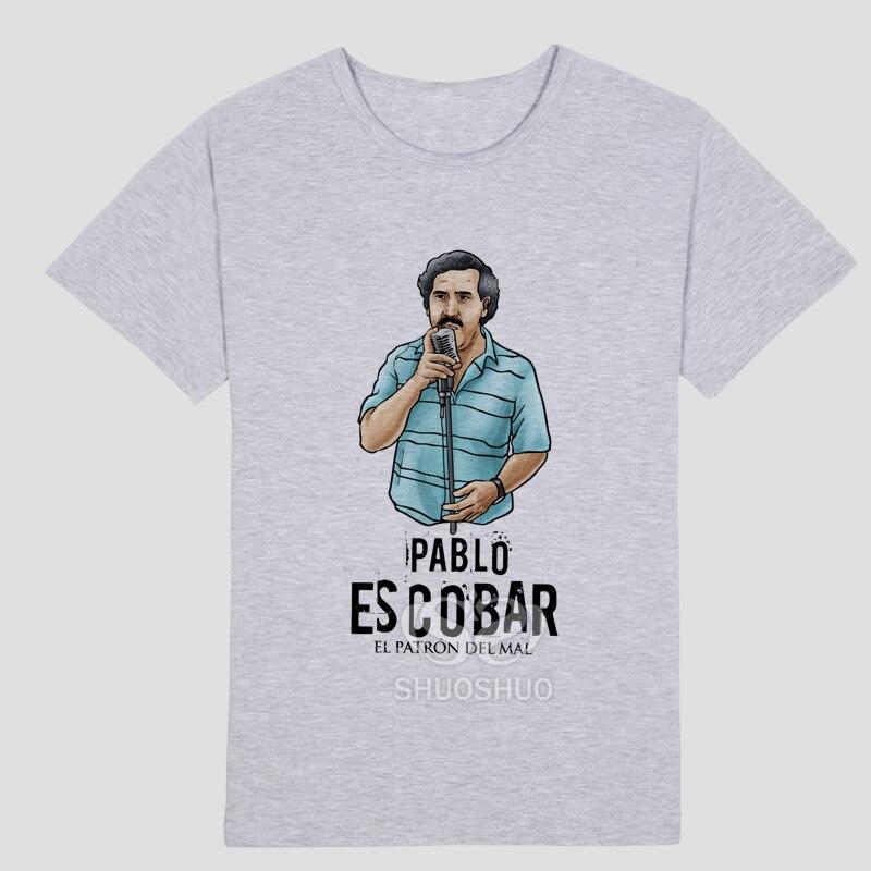 Pablo Escobar Camiseta Traficante Colombiano Dinheiro Do Cartel a ...