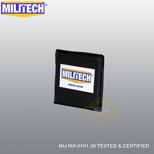 "Image 3 - MILITECH Ballistic Panel BulletProof Plate NIJ Level 3A & NIJ 0101.07 Level HG2 6"" x 6"" Pair Aramid Soft Side Insert Body Armor"