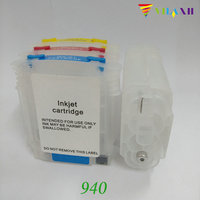 For HP 940 Refillable Ink Cartridge For HP 940 Xl For HP Officejet Pro 8500 8500a