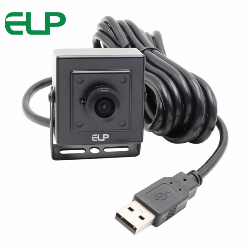 720P Wide angle USB Security camera 170 degree fisheye lens CMOS OV9712 UVC usb webcam for Mac Linux Android Windows elp oem 170 degree fisheye lens wide angle mini cmos ov5640 5mp autofocus usb camera module for android linux windows