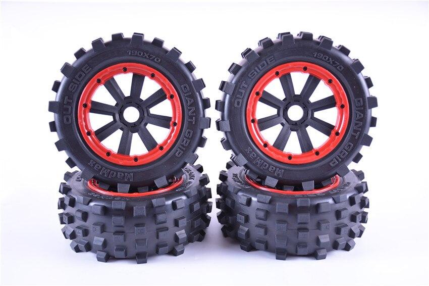 Gigante grip ruote set Off-road pneumatici per LOSI 5IVE-T LOSI DBXL e LOSI DBXL-E 190*70