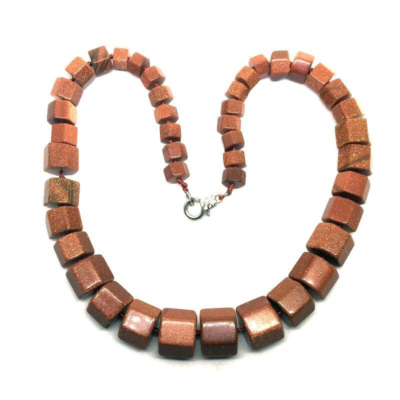 Barevné kamenné korálky náhrdelník absolvoval šperky trubice korálek náhrdelník růžové růže křišťál unakite opál