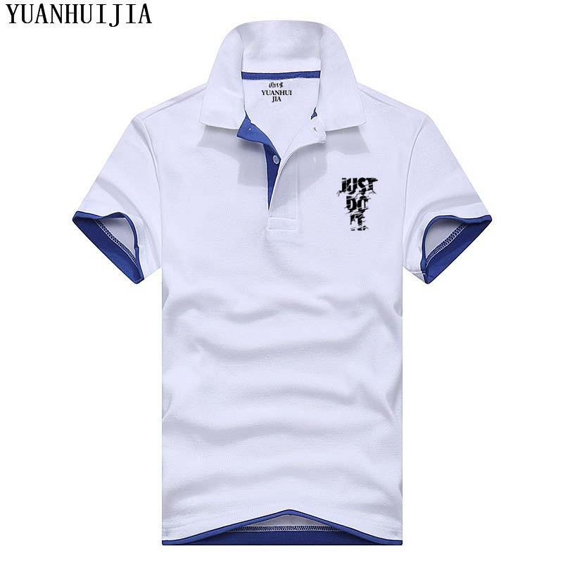 New 2018 Hip Hop Men S Polo Shirt For Just Do It Printing Polos Men