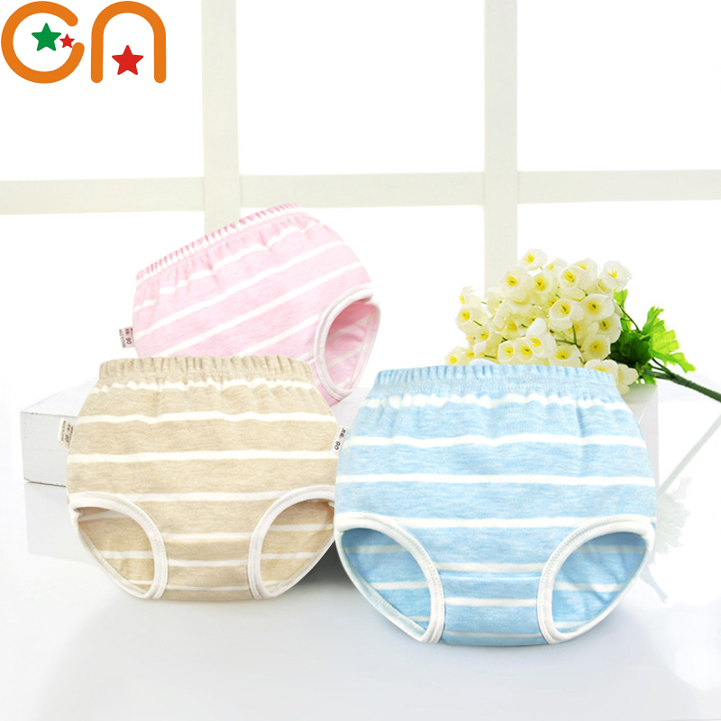 Kids 100% Cotton Underwear Panties Girl,Baby,Infant,fashion Bow Dot Stripe Underpants. For Children High-quality Shorts Gifts CN