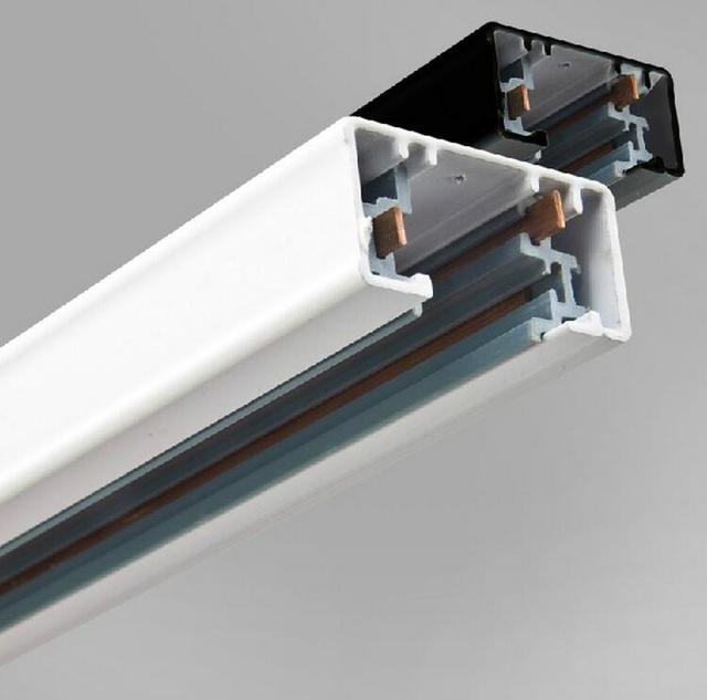 Free Shipping LED Shop Store 3 Rails Track Lamp T L I Connector Lustre  Cozinhas Pendente 3 Lines