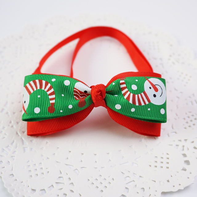 Christmas Bowtie With Bell 8