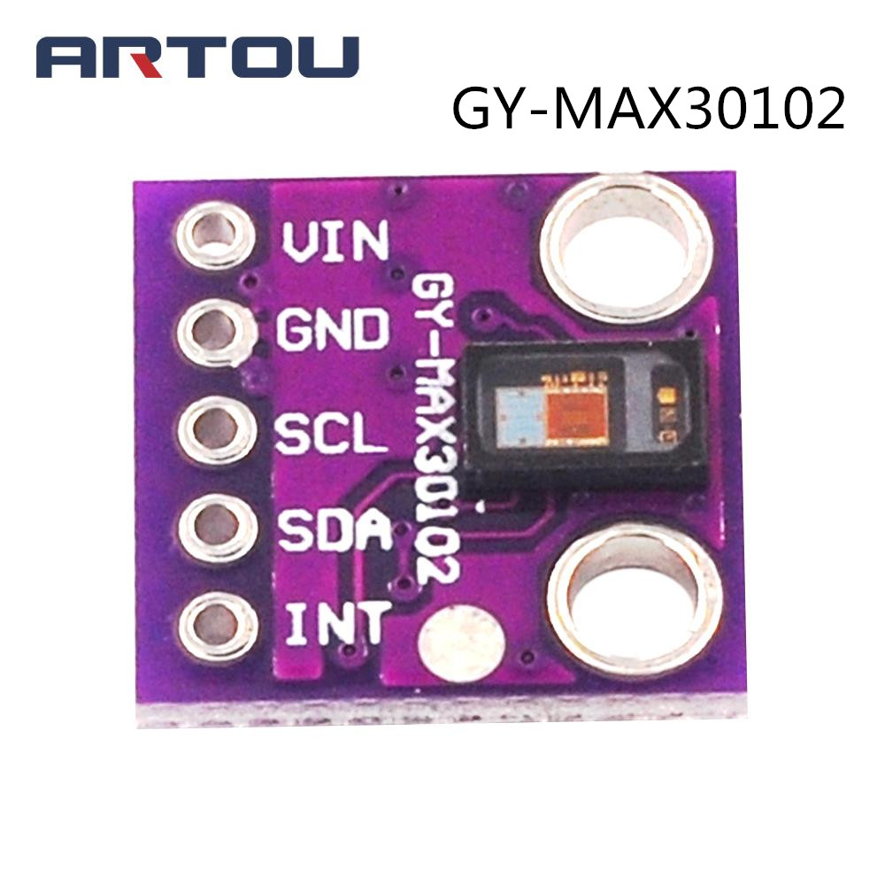 GY-MAX30102 Blood Oxygen Concentration Sensor Module Heart Rate Click MAX30102 Sensor Breakout Board for ArduinoGY-MAX30102 Blood Oxygen Concentration Sensor Module Heart Rate Click MAX30102 Sensor Breakout Board for Arduino