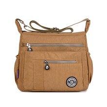 JINQIAOER New Ladies Hand Bags Waterproof Nylon Bag