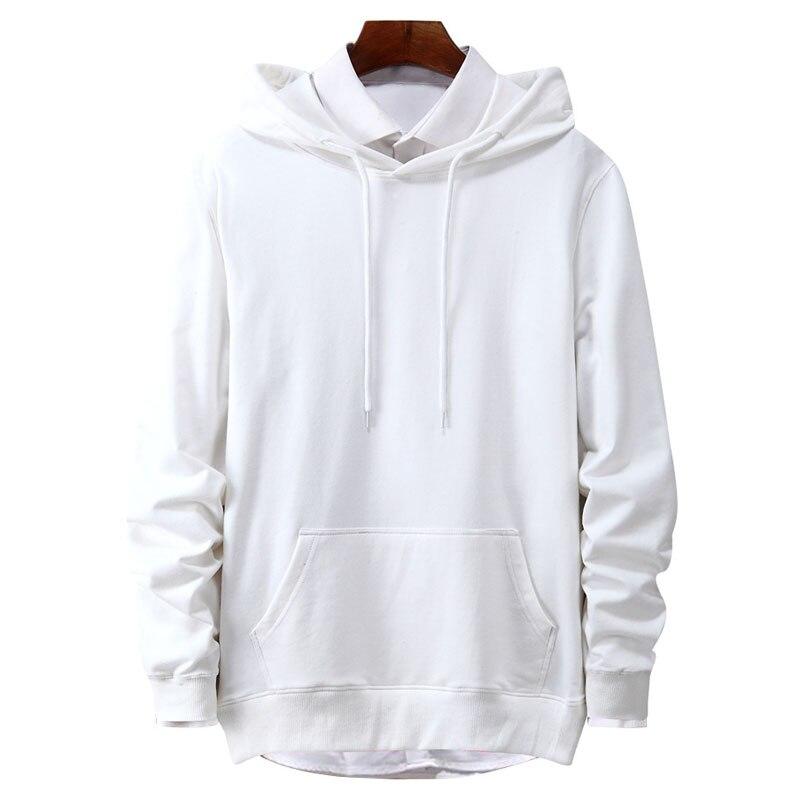 Spring Men Sweatshirts 4XL 5XL Bust 135 cm Large Size Casual Plus Size Hoodies Men 6 Colors