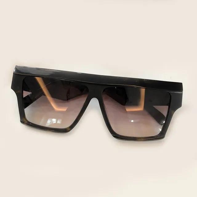 High Quality Sun Glasses 2019 Brand Fashion Sunglasses Women Vintage Designer Oculos De Sol Feminino Acetate Frame Gradient Lens