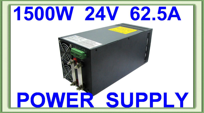 цена на CE RoHS high power SCN-1500-24V AC DC single output switching power supply with Parallel function