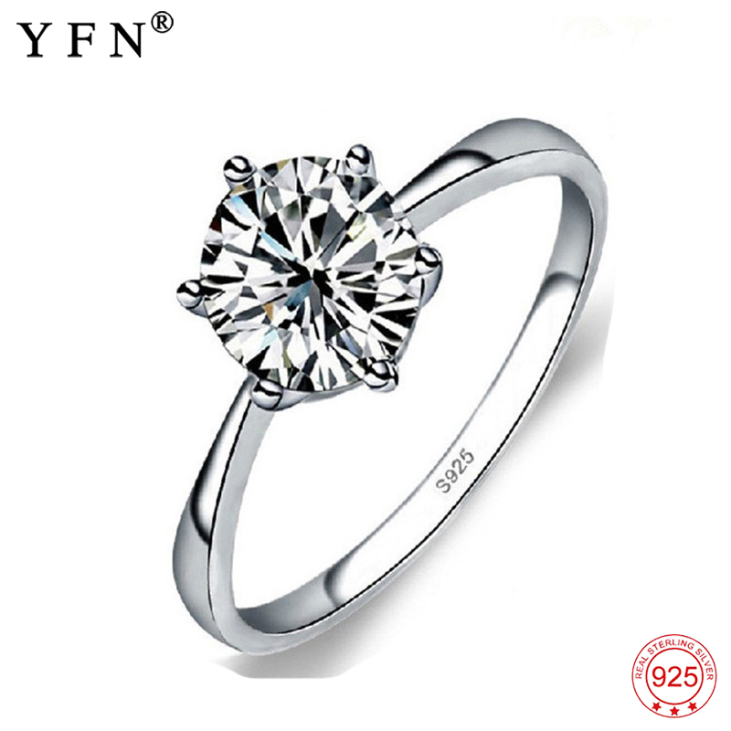 Rings Hot Design 925 Sterling Silver Fine Jewelry Fashion Noble Luxury Jewelry Ring Wedding Band Women Jewelry Silver Rings