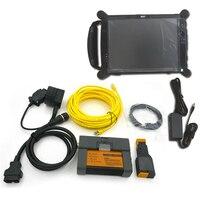 Высокое качество для BMW ICOM A2 с 2018,09 ICOM Программное обеспечение + EVG7 DL46/HDD500GB/DDR 4 ГБ диагностический контроллер Tablet PC готовы Применение