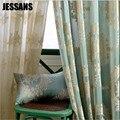 Eruopean новая тканая жаккардовая занавеска для спальни  гостиной  кухонные шторы  тюль  окна  отвесные шторы с вышивкой