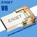 EAGET V8 USB Stick 8 ГБ Смартфон USB 2.0 Flash Drive OTG Внешнее Запоминающее Pendrive Micro 16 ГБ 32 ГБ Pen Drive Memory Stick