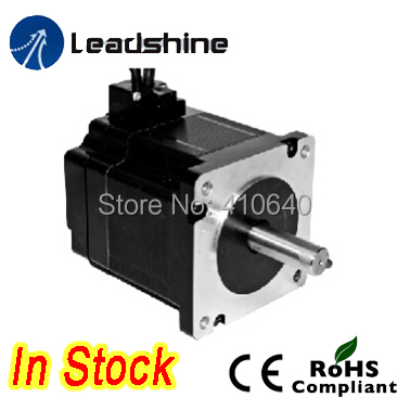 Leadshine Hybrid Servo Motor 86HS80-EC 1.8 degree 2 Phase NEMA 34 with encoder 1000 line and 1.0 N.m torque new 400w leadshine ac servo motor acm604v60 01 1000 work 60v run 3000rpm 1 27nm encoder 1000 line work with servo driver acs806