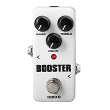 KOKKO FBS2 Mini Pedal Booster 2-Band EQ Guitarra Pedal de Efectos de Alta Calidad Guitar Parts & Accessories