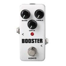 KOKKO FBS2 Mini Pedal Booster 2-Band EQ Guitarra Pedal de Efectos de Alta Calidad Gitarre Teile & Zubehör