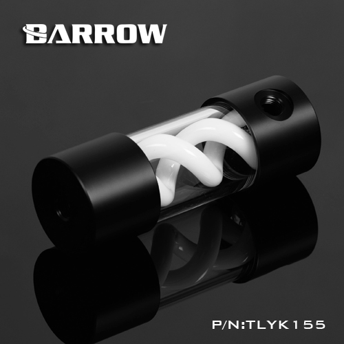 BARROW <font><b>T</b></font> <font><b>virus</b></font> white spiral suspension cylinder water-cooled tank up and down the length of 155MM black image