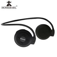 HOMEBARL 3D Mini 503 Mini503 Bluetooth 4.2 FM kulaklık spor kablosuz kulaklıklar müzik Stereo kulaklık + 8GB 16GB mikro SD kart
