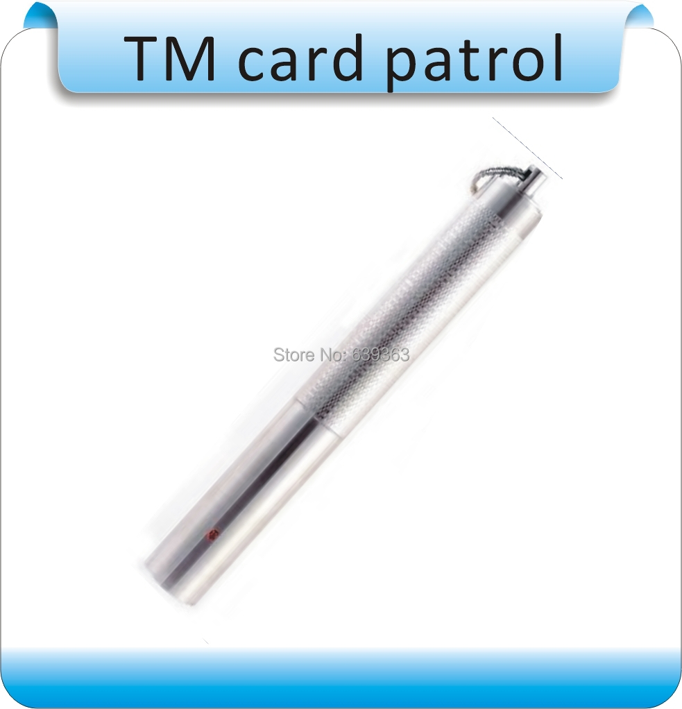 DIY  Stainless steel,OCOM-PA081 TM card Patrolling rod ,Guard Patrol Stick, for Guard Tour system other botanical slimming meizitang