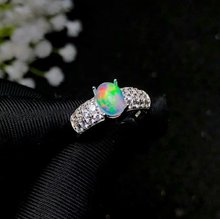 shilovem 925 sterling silver real Natural opal Rings fine Jewelry women trendy wedding new open wholesale 6*8mm bj060830ago shilovem 925 sterling silver natural opal rings fine jewelry women trendy wedding open new wholesale gift mj0810111ago