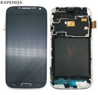 Can adjust brightness LCD For Samsung Galaxy S4 I9500 I9505 I337 I9515 LCD Display Touch Screen Digitizer Assembly with Frame