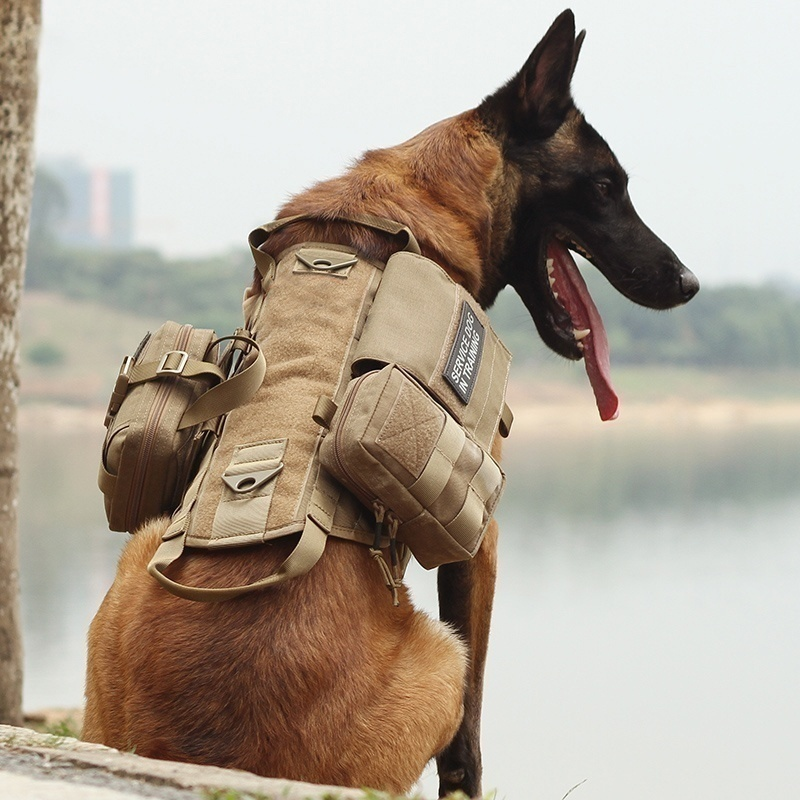 Army Tactical Dog Outdoor Training Vest