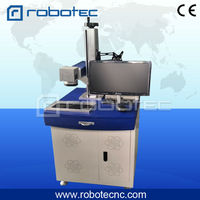 Hot sale 20w 30w Raycus Max, Ipg laser source with rotate fiber laser marking machine