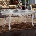 Fliphs palladio nuevo diseño mantel Rectangular boda fiesta de ganchillo madera maciza mesa de trabajo hecho a mano que talla mesa auxiliar cuadrada