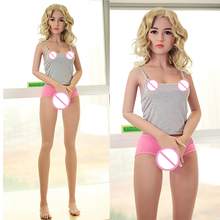 Top quality 156cm real TPE silicone big breast sex doll for man for oral vagina sex toy