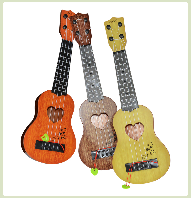 US $3 47 9% OFF|39cm/44cm Mini Ukulele Animal Style Kids Simulation Guitar  Musical Instruments Toys For Children Music Educational X'mas Gift-in Toy