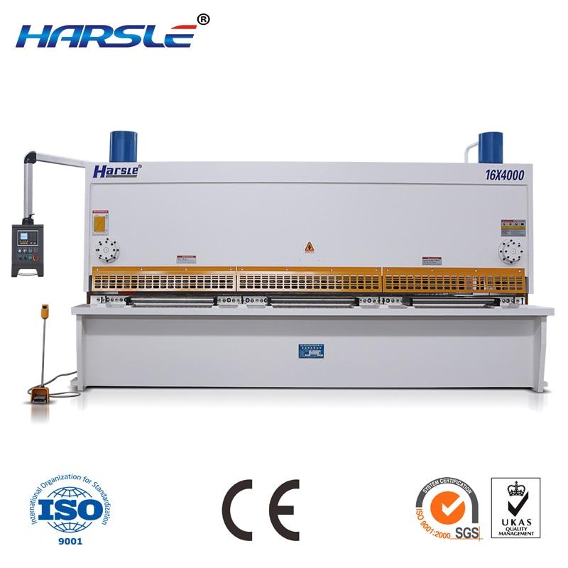 QC11K series good performation metal sheet guillotine shearing machine