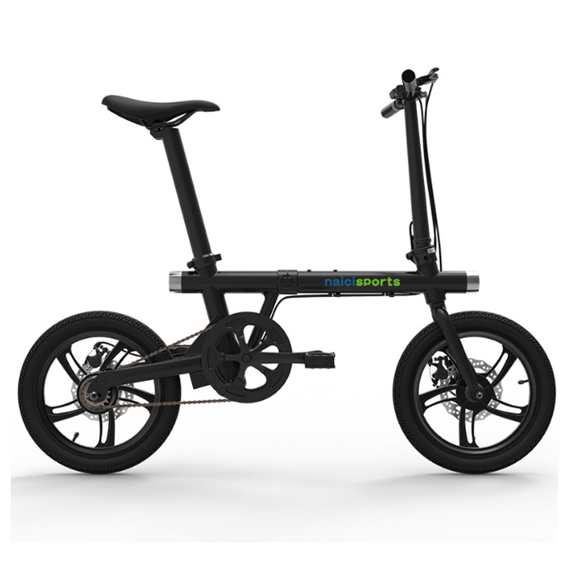Folding electric bicycle 16 inch aluminum alloy electric bike front and rear double lamp ebike riding travel electric bicycleFolding electric bicycle 16 inch aluminum alloy electric bike front and rear double lamp ebike riding travel electric bicycle