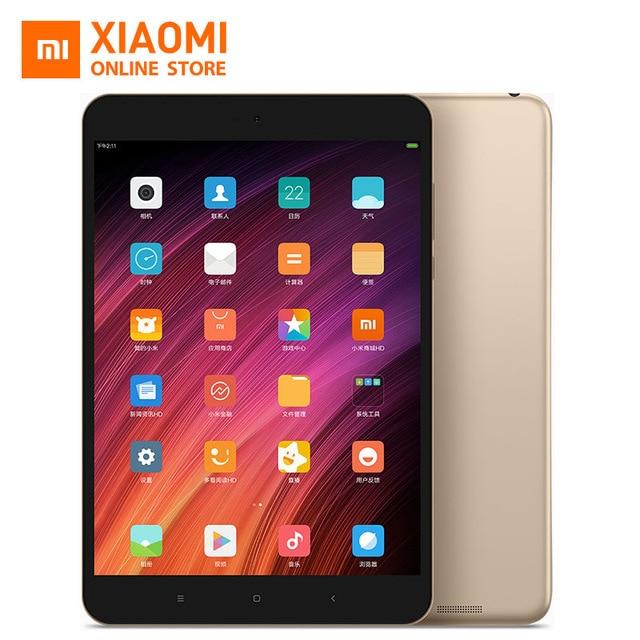 Оригинал Сяо Mi MiPad Mi Pad 3 7.9 ''Планшеты PC Miui 8 4 ГБ Оперативная память 64 ГБ Встроенная память MediaTek MT8176 гекса core 2.1 ГГц 6600 мАч 2048*1536 13MP