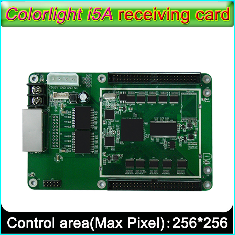 Colorlight I5A Receiving Card,Indoor And Outdoor P2.5-P10-P30 Full-color LED Display Receiving Card,Support Various Scanning Way