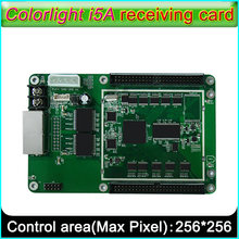 Colorlight i5A cartão de recebimento, P2.5-P10-P30 Interior e Exterior full-color display LED recebe o cartão, Suporte vários tipos de digitalização maneira