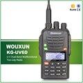 100% Original Wouxun KG-UV6D Doble Banda VHF/UHF FM Profesional Radio de Dos vías Tono Burst/LÁMPARA/SOS Ham Radio WOUXUN Walkie Talkie
