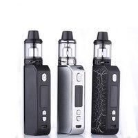 Authentic Electronic cigarette 80W vape kit for liquid box mod kit vapor smoke vape pen 2ml tank vape 2ml tank vape battery