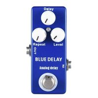 BMDT Mosky Deep Blue Delay Mini Guitar Effect Pedal True Bypass