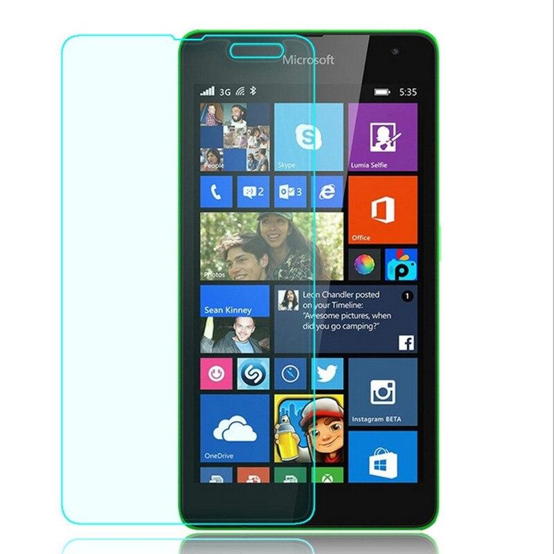 Tempered Glass for Microsoft Lumia 535 Dual SIM RM-1090 Glass Screen Protector Protective Film Pantalla for Nokia Lumia 535 Film