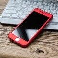 Para iphone 6 6 s 7 plus 360 escudo do telefone móvel pacote shell para a apple 7 shell proteção do telefone móvel casos de telefone queda