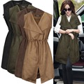 2016 Feathers Time-limited New Gilet Women Suede Sleeveless Vest Long Female Coat Women's Colete Veste Femme Chalecos Mujer