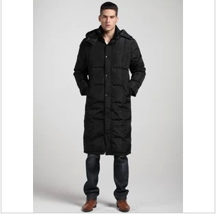 Long Down Coat Men - Coat Racks