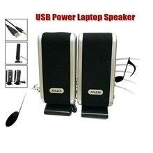 2 шт портативные аудио-видео USB мини колонки проводные стерео 3,5 мм разъем для настольного ПК ноутбука аудио 17x7x6,5 см