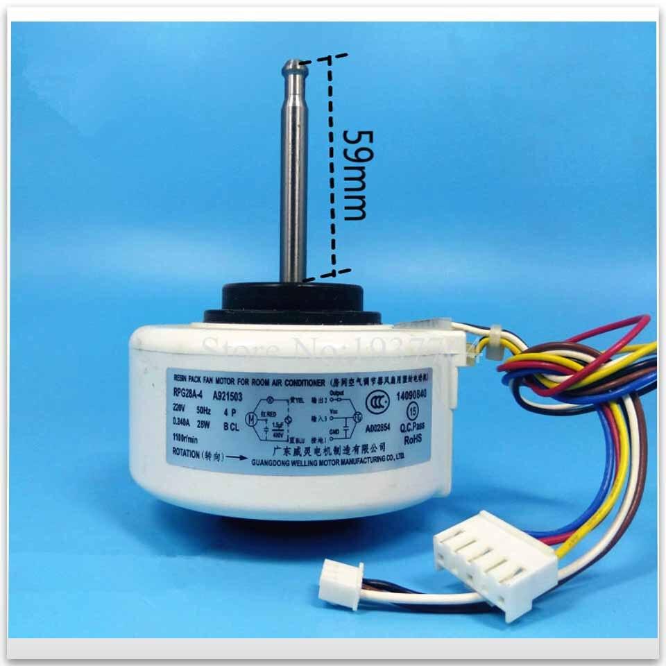 100% nouveau pour climatiseur moteur RPG28A-4 A921503 ventilateur moteur bon fonctionnement100% nouveau pour climatiseur moteur RPG28A-4 A921503 ventilateur moteur bon fonctionnement